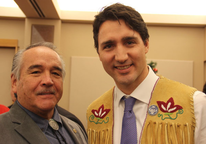 National Chief meets with Prime Minister Trudeau